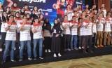 Launching Tim Jakarta Pertamina Energi (JPE) dalam menghadapi Proliga 2020. JPE menargetkan double Champions.