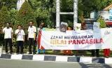 Lembaga Manajemen Infaq (LMI) menggelar aksi kepedulian di kota Surabaya.