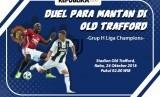 Liga Champions, Manchester United vs Juventus