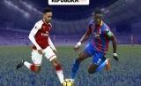 Liga Inggris, Arsenal vs Crystal Palace.