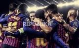 Liga Spanyol, Barcelona vs Eibar.