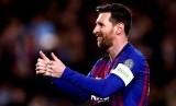 Lionel Messi absen membela Barcelona saat menghadapi Inter Milan pada laga Grup F LIga Champions.