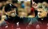Liverpool vs Manchester United, adu taktik Juergen Klopp dan Ole Gunnar Solskjaer.