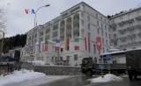 Lokasi Fiorum Ekonomi Dunia di Davos, Swiss. Ratusan ornag kaya dunia akan berkumpul di Davos pekan depan.