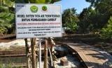 Lokasi restorasi gambut di Kepulauan Meranti