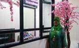 Loket pendaftaran layanan ibu hamil di Rumah Bersalin Kalibaru, Cilincing, Jakut.