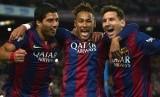 Luis Suarez, Neymar dan Messi