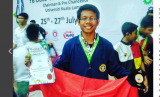 Mahasiswa IPB meraih medali perunggu di ajang International Eureka Innovation Exhibition (I-EIE) 2017, Malaysia.