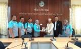 Mahasiswa Magister Manajemen Syariah (MM Syariah) Sekolah Bisnis (SB) Institut Pertanian Bogor (IPB) melakukan benchmarking industri  halal di  Thailand.