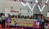 Mahasiswa Prodi Akuntansi UBSI berfoto bersama seusai mengunjungi Bursa Efek Indonesia (BEI) Jakarta.