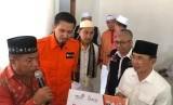 Majelis Ta'limTelkom Group (MTTG) bersama Rumah Zakat melaunching Sekolah Darurat dan Hunian Sementara di Sigi.
