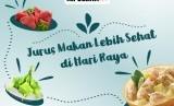 Makan sehat saat Lebaran