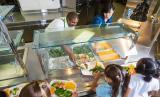 Makanan halal di sekolah di Kota Atlantik, New Jersey