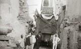 Makkah dan Turki pada abad 19 dihubungkan dengan kereta api.