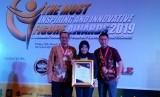 MangoeSky yang merupakan produk dari PT Telkom Satelit Indonesia (Telkomsat) menerima penghargaan sebagai Layanan Internet Terbaik di daerah rural pada acara The Most Inspiring and Innovative Figure Awards 2019.