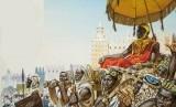 Perjalanan Haji Raja Afrika Bagikan Emas