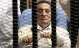 Mantan presiden Mesir Husni Mubarak. Presiden Palestina Mahmoud Abbas sebut Husni Mubarak dukung perjuangan rakyat Palestina..
