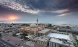 Kuwait Mulai Fase Keempat Pulihkan Kehidupan Normal. Masjid Agung Kuwait