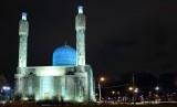 Masjid Biru di Pulau Petrogradsky, Sankt Peterburg.