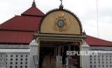 Masjid Gedhe Kauman menyediakan gule kambing  untuk buka puasa, gule kambing yang merupakan takjil khasnya Masjid.Gedhe Kauman.