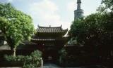 Masjid Huaisheng (Memorial Mosque) di Kota Guangzhou, Cina.