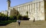 Masjid Ibrahimi di Kota Hebron, Tepi Barat, Palestina.