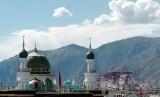 Masjid Lhasa di Tibet.
