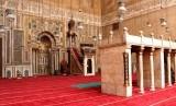 Masjid dengan corak arsitektur Mamluk (ilustrasi)