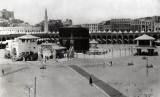 Sejarah Haji Pernah Beberapa Kali Ditiadakan. Foto: Masjidil Haram tempo dulu.
