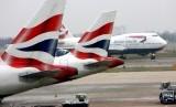 Maskapai British Airways.