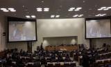 Mayjen Hartind Asrin di Markas PBB, New York, Senin (12/2).