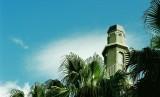 Menara Masjid Al-Awal (Owal), masjid pertama di Cape Town, Afrika Selatan. (ilustrasi)
