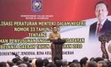 Mendagri  Thahjo Kumolo melaksanakan sosialisasi penggunaan anggaran negara