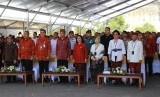 Mendagri Tjahjo Kumolo dan Presiden Joko Widodo menghadiri