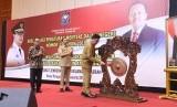 Mendagri Tjahjo Kumolo membuka sosialisasi penggunaan anggaran negara untuk pemda
