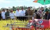 Mentan Amran Sulaiman bersama para petani