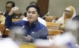 Menteri Badan Usaha Milik Negara (BUMN) Erick Thohir mengaku sedang merancang formulasi setoran minimal dividen atau pembagian keuntungan dari laba bersih dari setiap BUMN kepada negara.