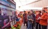Menteri Desa, Pembangunan Daerah Tertinggal, dan Transmigrasi (Mendes PDTT) Eko Putro Sandjojo membuka Temu Karya Nasional, Gelar TTG XX, dan Pekan Inovasi Perkembangan Desa dan Kelurahan (PINDesKel) 2018 di Kabupaten Badung, Bali, Jumat (19/10).