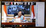 Menteri Koordinator Bidang Politik, Hukum, dan Keamanan, Mahfud MD.