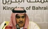 Menteri Luar Negeri Bahrain Syekh Khalid bin Ahmed Al-Khalifa