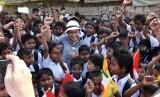 Menteri Luar Negeri, Retno Marsudi saat berkunjung ke Myanmar beberapa waktu lalu (ilustrasi).