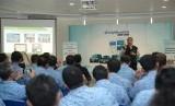 Menteri Pariwisata Arief Yahya saat memberikan pelatihan (Training of Trainer) program Wonderfu Indonesia Service Ambassador (WISA) bagi pengemudi Blue Bird