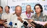Menteri Pekerjaan Umum dan Perumahan Rakyat Basuki Hadimuljono dan Menteri Keuangan Sri Mulyani  meresmikan dimulainya konstruksi Sistem Penyediaan Air Minum (SPAM) Semarang Barat