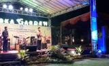 Menteri Pendidikan dan Kebudayaan, Muhadjir Effendy, saat memberikan sambutan pada Kawah Kepemimpinan Pelajar (KKP) Siswa SMP 2018 di Griya Persada Convention Hotel, Sleman, Selasa (23/10) malam.