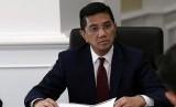 Menteri Perekonomian Malaysia Datuk Seri Azmin Ali yang terseret dalam dugaan video mesum sesama jenis.