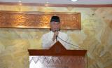 Menteri Pertahanan (Menhan) Ryamizard Ryacudu mengadakan acara buka puasa bersama di Masjid At Taqwa Kementerian Pertahanan, Jakarta.