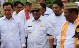 Menteri Pertanian Amran Sulaiman resmikan ekspor jagung produksi Gorontalo ke Filipina, Rabu, (14/2).