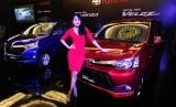 Mobil Grand New Avanza dan Grand New Veloz saat peluncuran di Jakarta, Rabu (12/8).