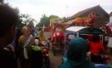 MTs Madinah Bunder menggelar Karnaval Tabligh Akbar dalam rangka menyambut Ramadhan 1437 H.