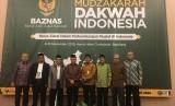 Mudzakarah Dakwah Indonesia Baznas di Bandung, Jawa Barat, Jumat (8/11).